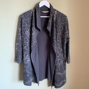 SOFT SURROUNDINGS Open Cardigan Sweater